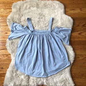 Free People We The Free Baby Blue Top